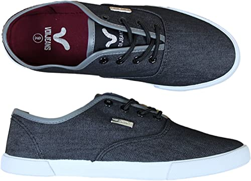 VOI Mens Trainers Jeans Fiery VFW00212