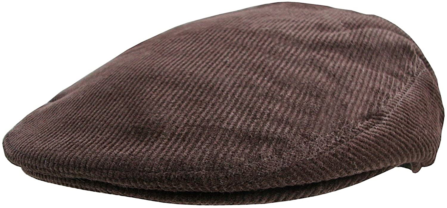 Mens Corduroy Flat Caps Traditional Peaked Newsboy Hat Country style Cord Cap