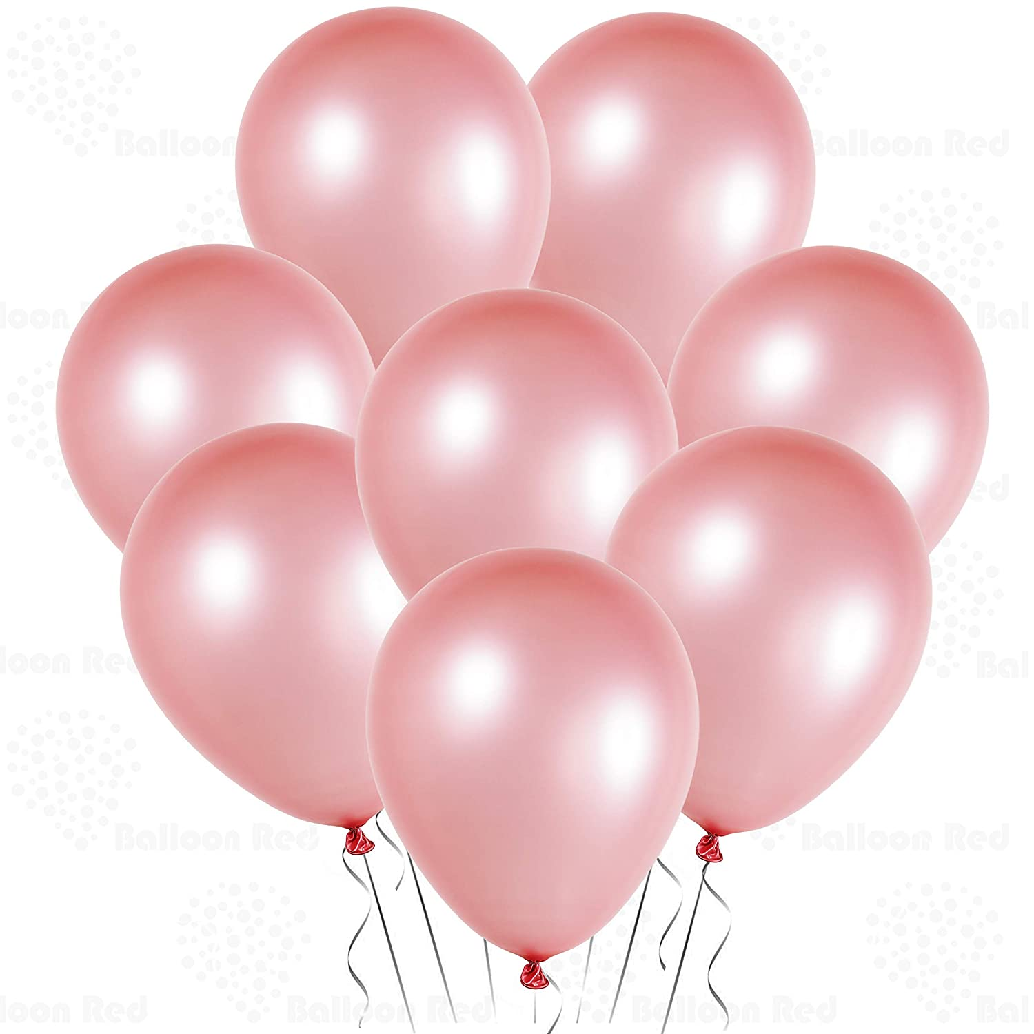 Amazon.com: 12 Inch Pearlized Latex Balloons (Premium Helium Quality), Pack  of 72, Pearl Rose Pink, for Bridal Shower Wedding Birthday Party  Decorations ...