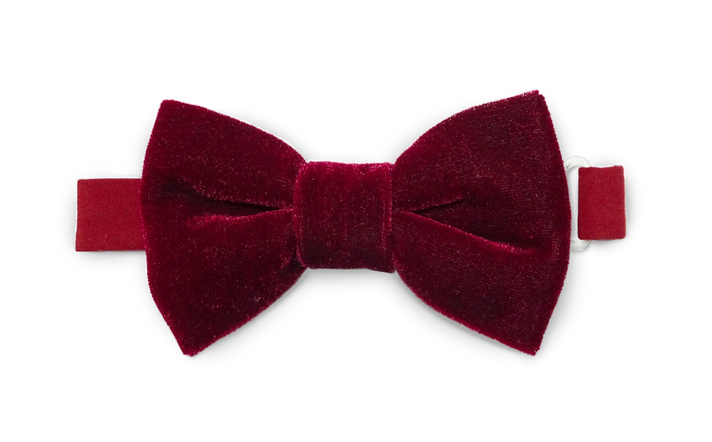 Bow Tie (Burgundy Velvet (Large))