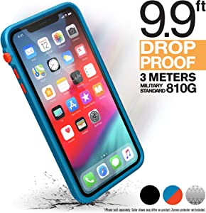 iPhone Xs Max Case Impact Protection by Catalyst, Military Grade Drop and Shock Proof Premium Material Quality, Slim Design, Blueridge/Sunset