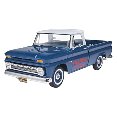 Revell '66 Chevy Fleetside Pickup Model Kit: Toys & Games