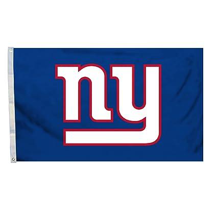 Fremont Die Nfl Flag With Grommets New York Giants Logo