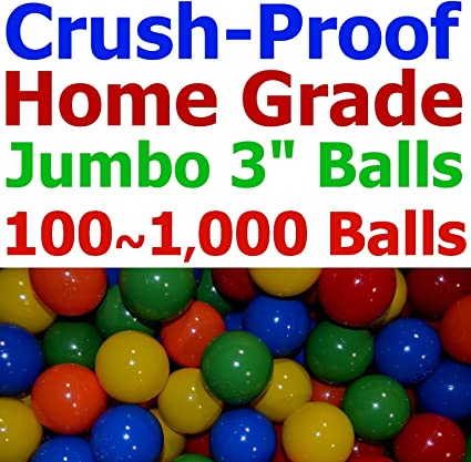 "2.5/"" Crush-Proof Pit Balls Pack Of 100 Balls"