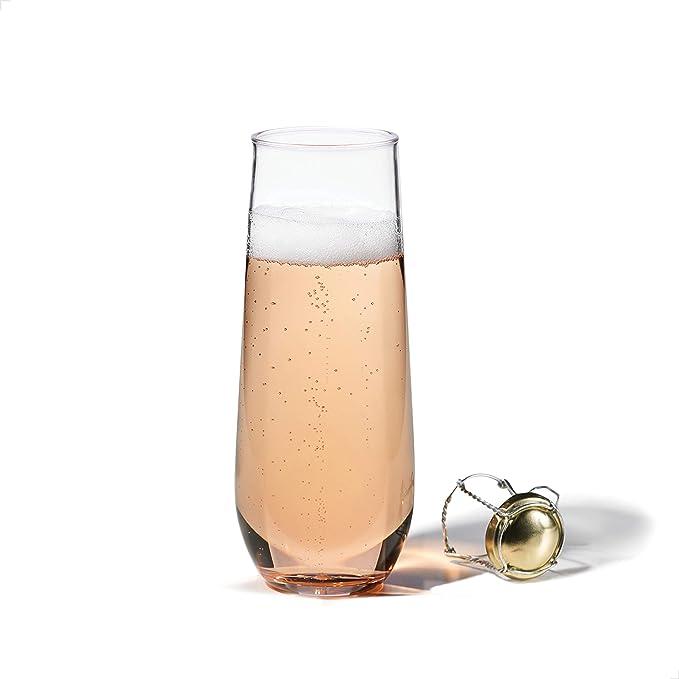 TOSSWARE 12oz Old Fashion SET OF 24 Tritan Dishwasher Safe /& Heat Resistant Unbreakable Plastic Whiskey Glasses