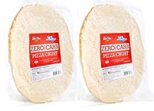ThinSlim Foods Zero Net Carb, Low Carb Keto Pizza Crust - 2 Pack
