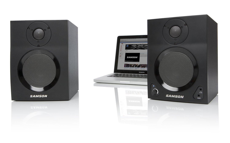Samson MediaOne BT4 Active Studio Monitors with Bluetooth