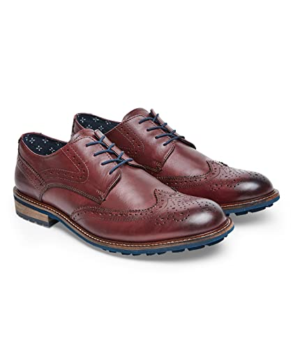 43 Marron Chaussures Cuir Browns Homme Richelieu En Joe 5LqRc4jA3