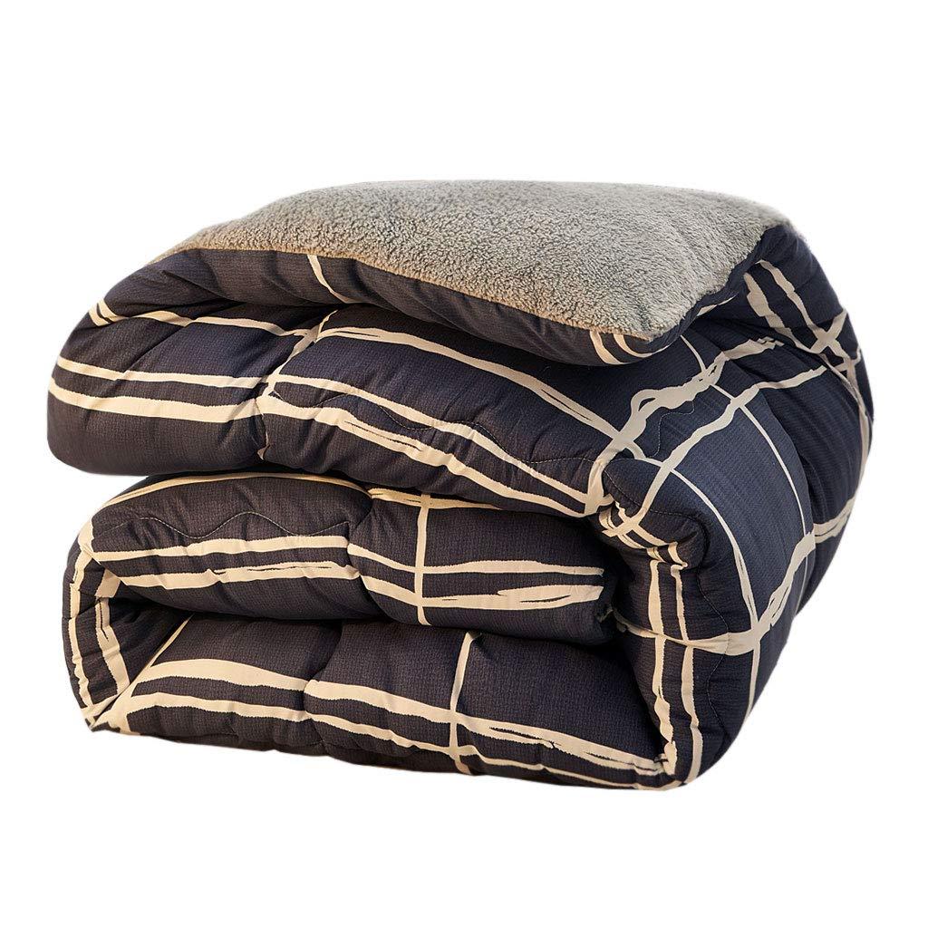 【予約販売】本 先進的な厚めの柔らかい保温暖かい二重の秋と冬のキルトのコアベッドルームのホステルのベッドライニング (色 : ライトブルー, サイズ さいず : : 150×200cm(2.5kg)) さいず B07MLDQRMV B07MLDQRMV 220×240cm(4kg)|青 青 220×240cm(4kg), シルバーショップ oseney:9ad51ee7 --- itourtk.ru