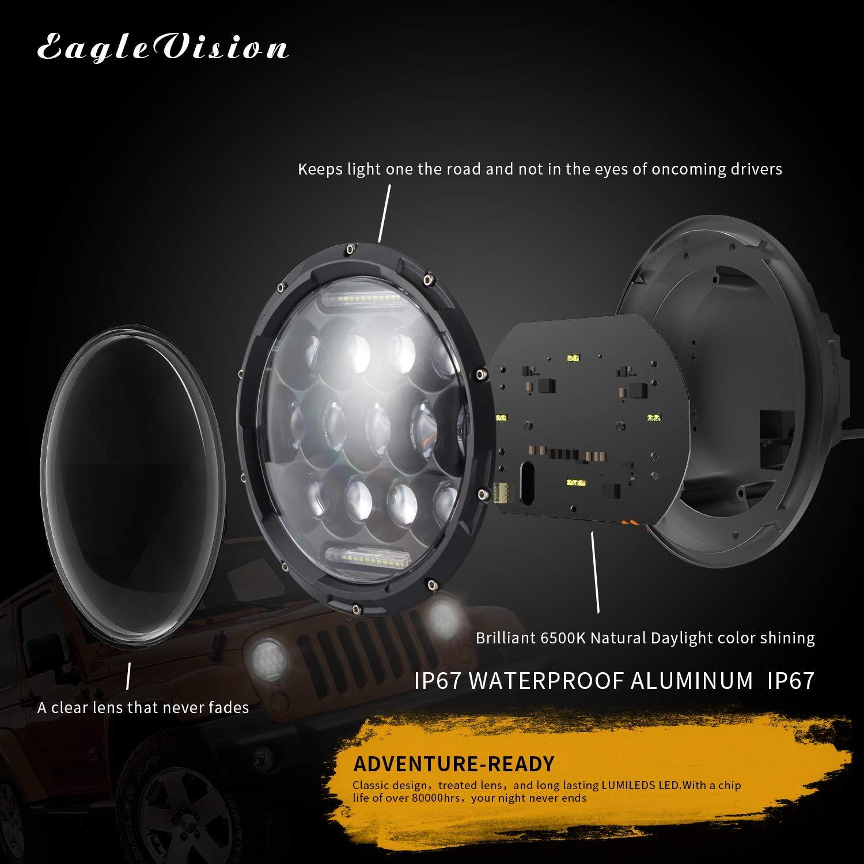 SWOO CAR 4  2 Pics 126W Lampe de Travail Carr/é 42 LED Chips Offroad Flood Faisceau Lumi/ère DRL SUV Camion UTE 12600LM 12V-36V 6 Rang/ées Projecteur de Bateau Quai Feux Anti Brouillard IP67