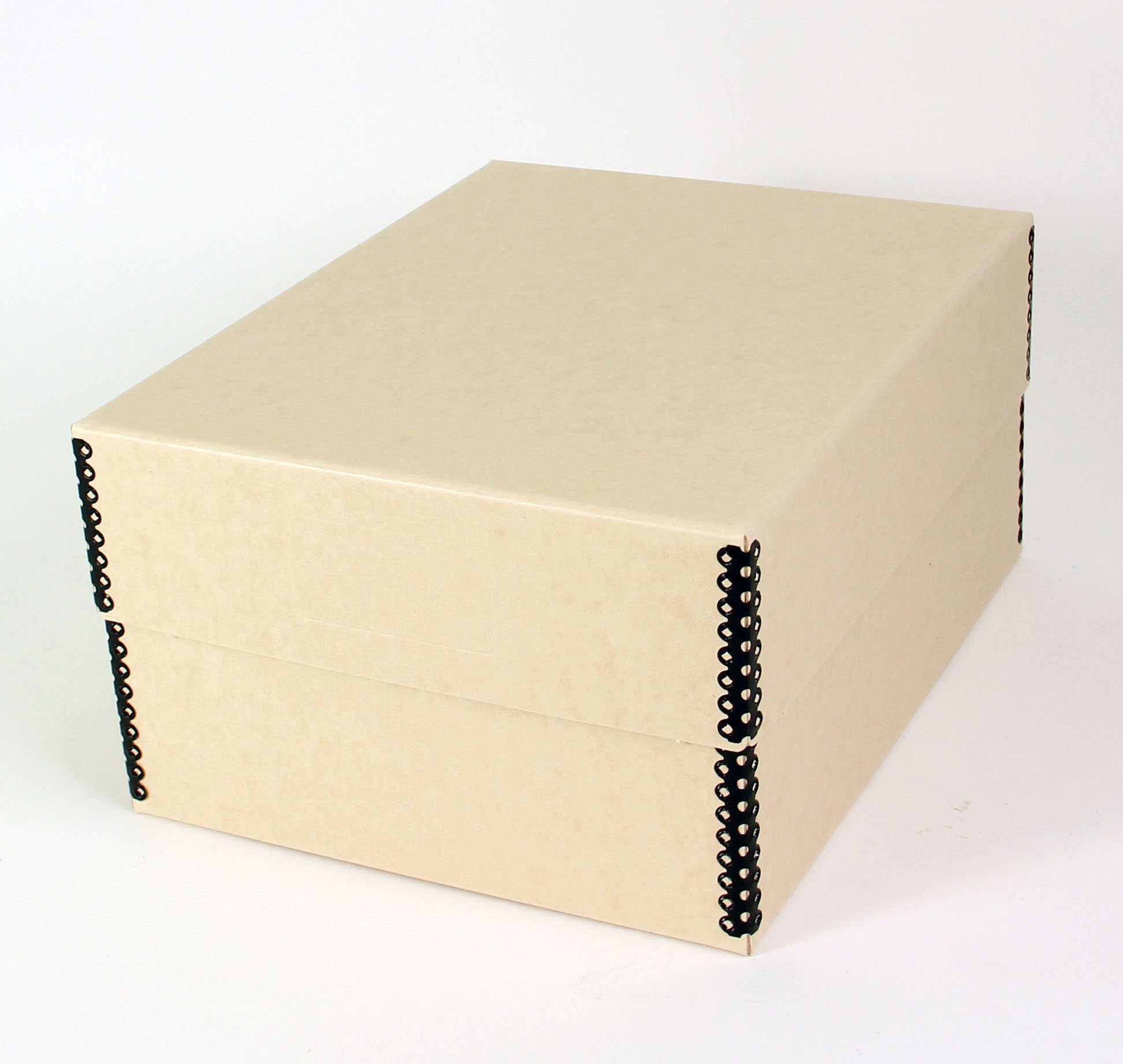 Short Top Box 10.5'' x 8.2'' - Container For Safe Storage of Post Cards and Photographic Prints