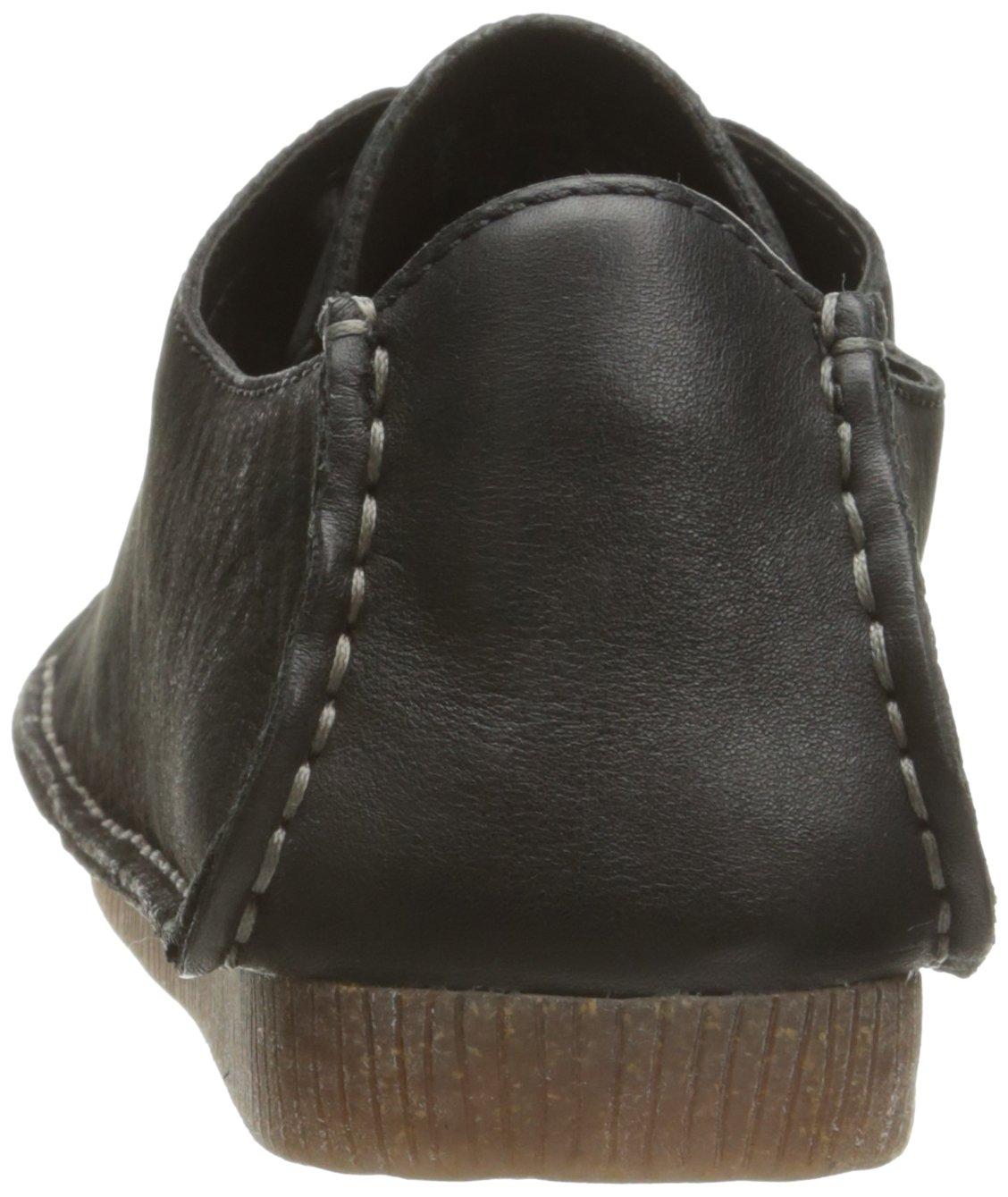 CLARKS Women's Janey Mae Oxford B01IPVFYBU 5.5 B(M) US|Black Nubuck