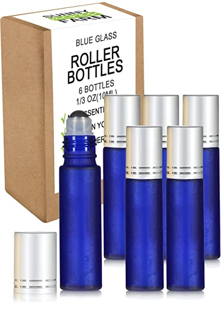 Aceites Esenciales Roller Botellas con receta eBook vidrio ...