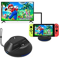 Base de TV de Carga portátil para Nintendo Switch Mini Dock de reemplazo con Chip electrónico y disipación de Calor para Nintendo Switch,modo de TV compatible y modo de consola