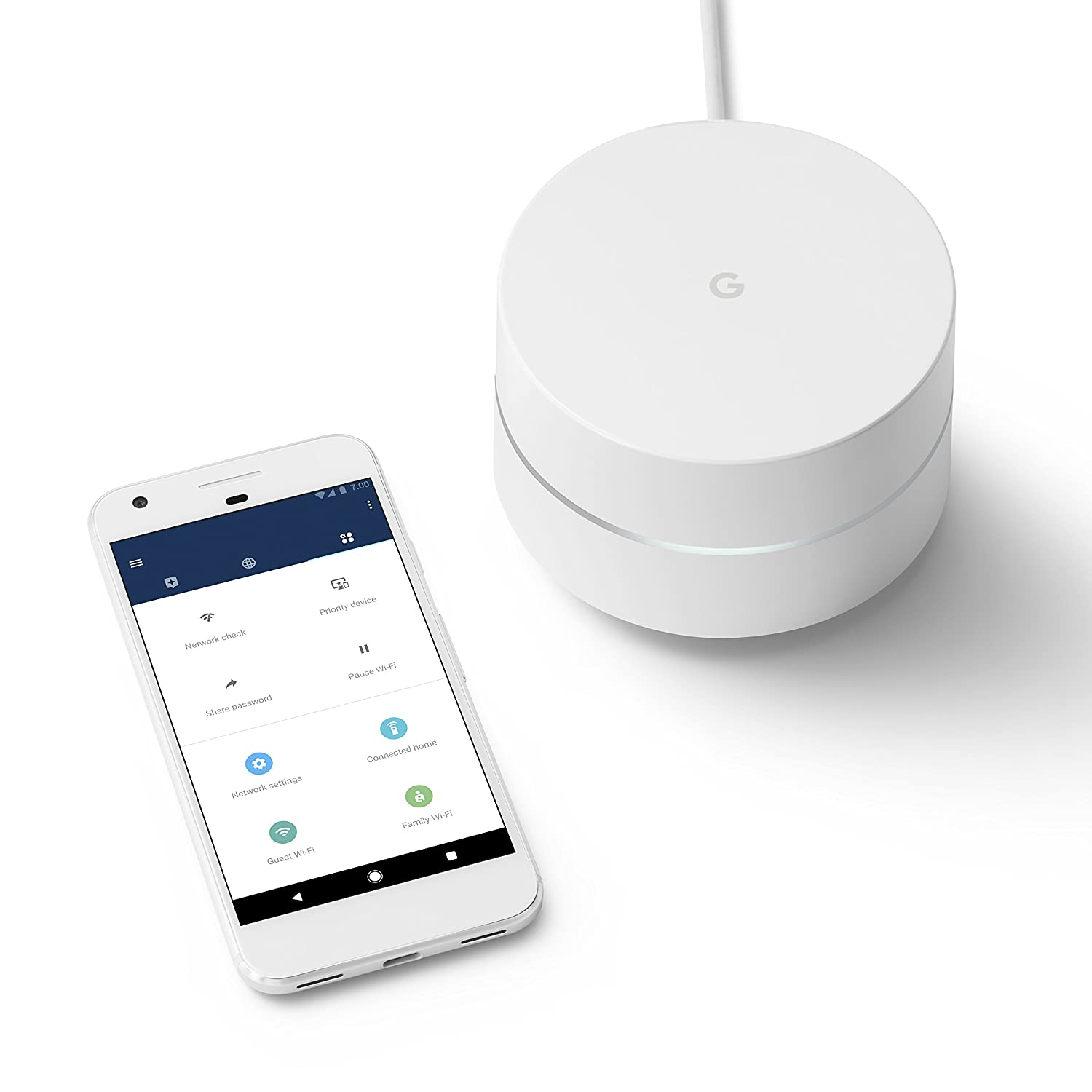 Amazon.com: Google Wifi system (set of 6) - Router replacement for whole home coverage: Computers & Accessories