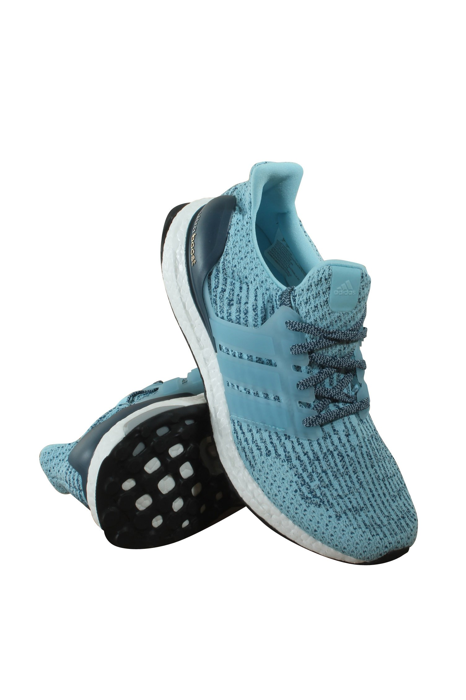 adidas Performance Women's Ultraboost w, Ice Blue/Ice Blue/Blue Night, 7.5 Medium US