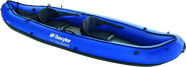 Amazon.com: Sevylor – Canoa hinchable Colorado, color azul ...
