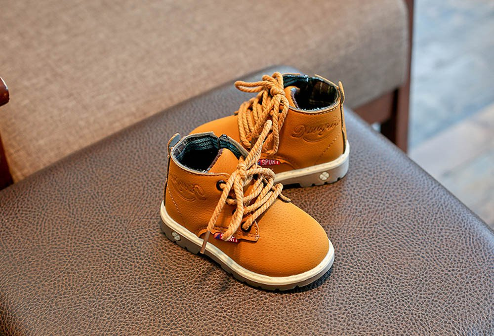 CieKen Toddler Baby Boys Girls Anti-Slip Martin Shoes,for 1-6 Years Old,Stylish Casual Sneakers Kids Boots