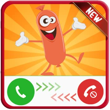Amazon com: 📱Call Simulator From Happy Sausage 🌭 - Free Fake Phone
