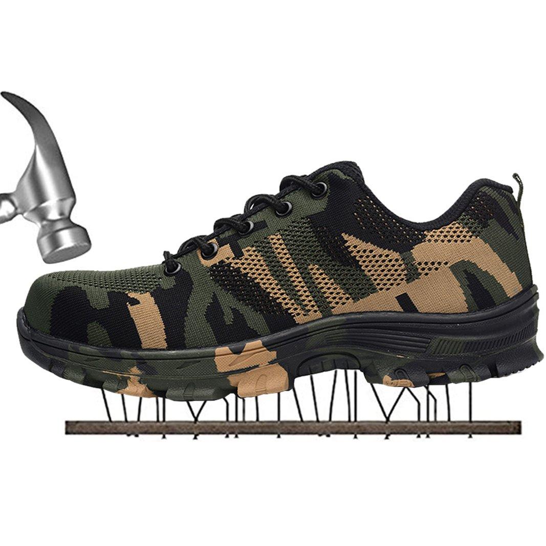 SUADEX Chaussure Homme Femme Travail Chaussure de Sécurité 5753 Chaussure de Travail Baskets Chaussures de Randonnée Vert 9c8400b - automaticcouplings.space