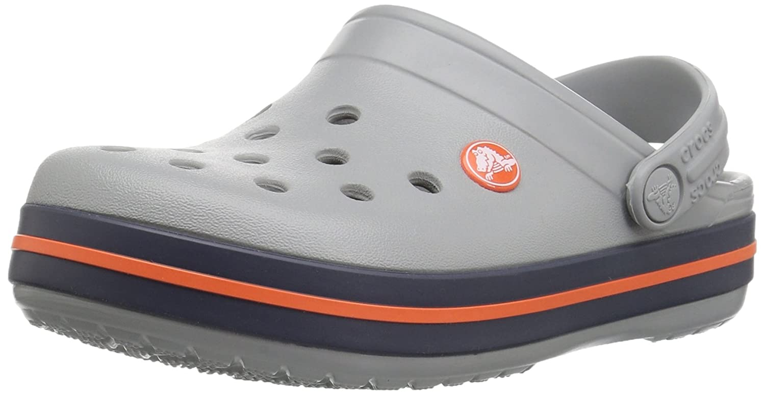 Crocs Kid's Crocband Clog | Slip On Water Shoe for Toddlers, Boys, Girls | Lightweight 204537-001