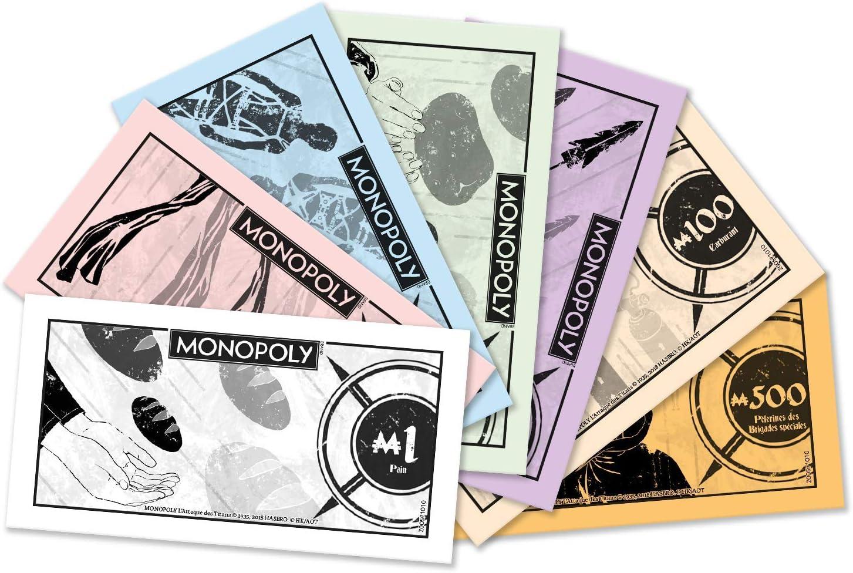 Monopoly LATTAQUE Des Titans - Juego de Mesa (versión Francesa): Amazon.es: Juguetes y juegos
