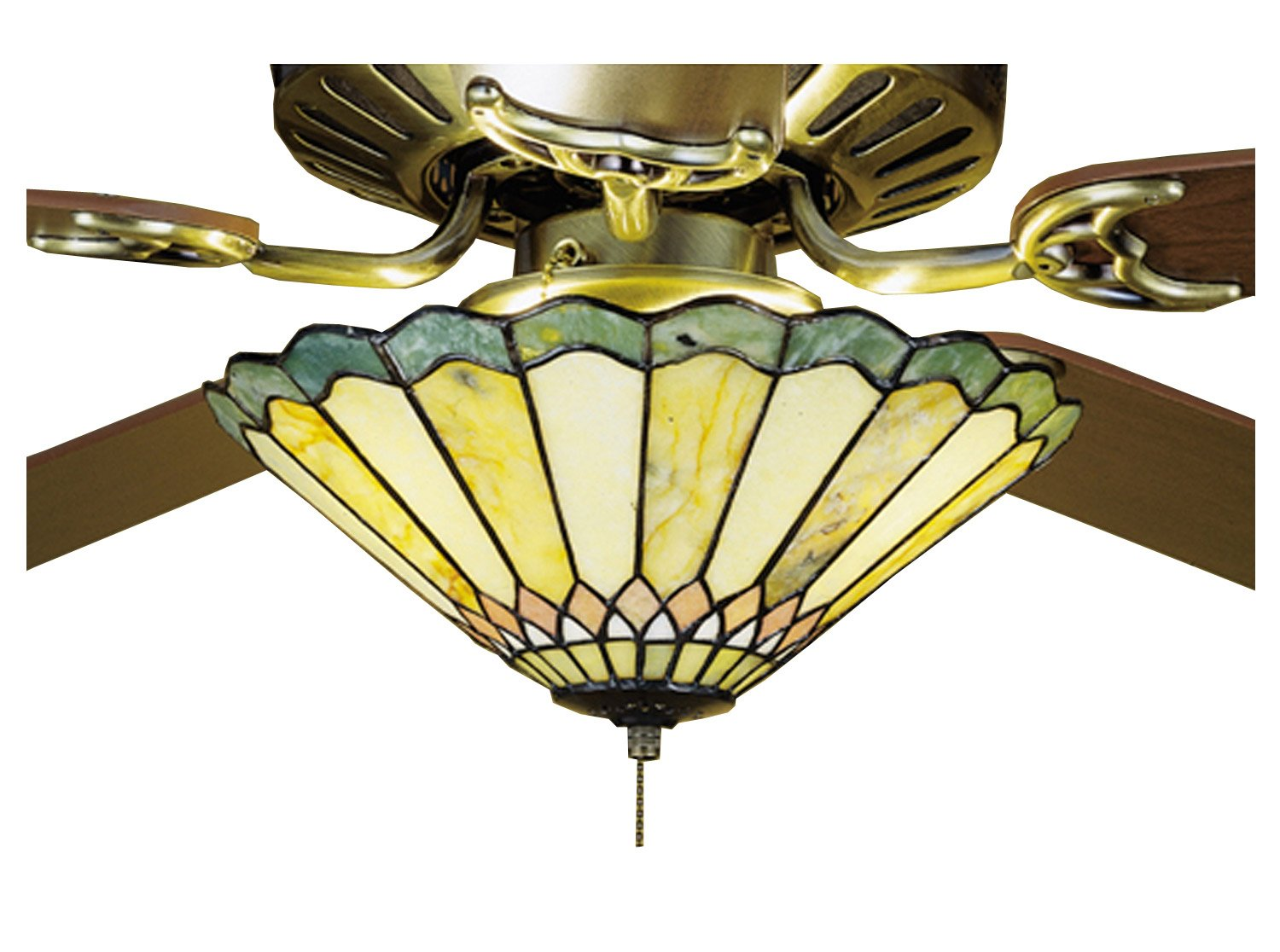 meyda tiffany jadestone carousel 3 light ceiling fan light ceiling fan light kits amazoncom - Meyda Tiffany