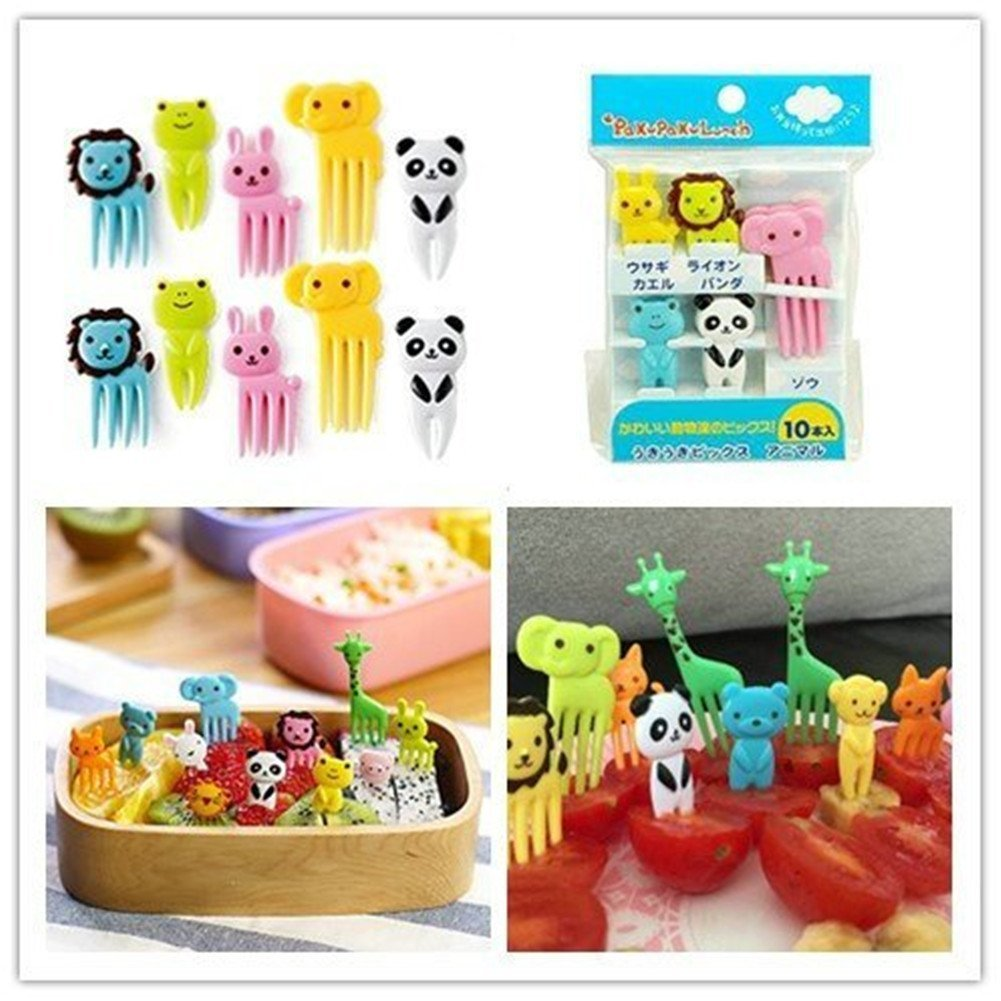 Box cute Feed and Forks Set of 5 Newin Star