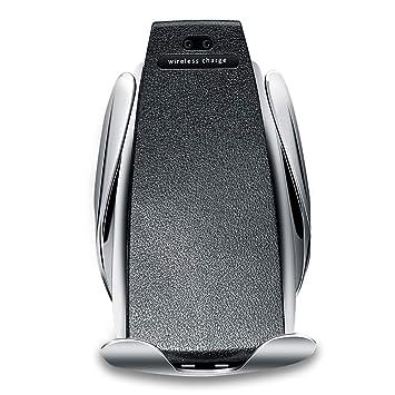 LIBWX Cargador Inalámbrico Coche, Pinza Automática, per ...