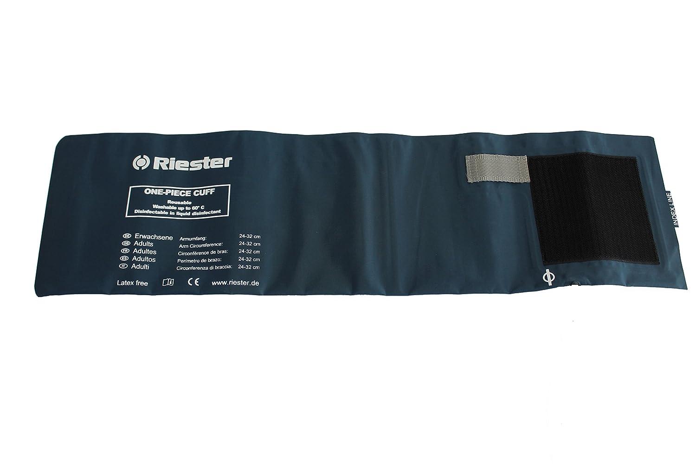 Riester 151 Brazalete desinfectable de una pieza adulto 54,5cmx14,5cm, 2 tubos, sin latex: Amazon.es: Industria, empresas y ciencia