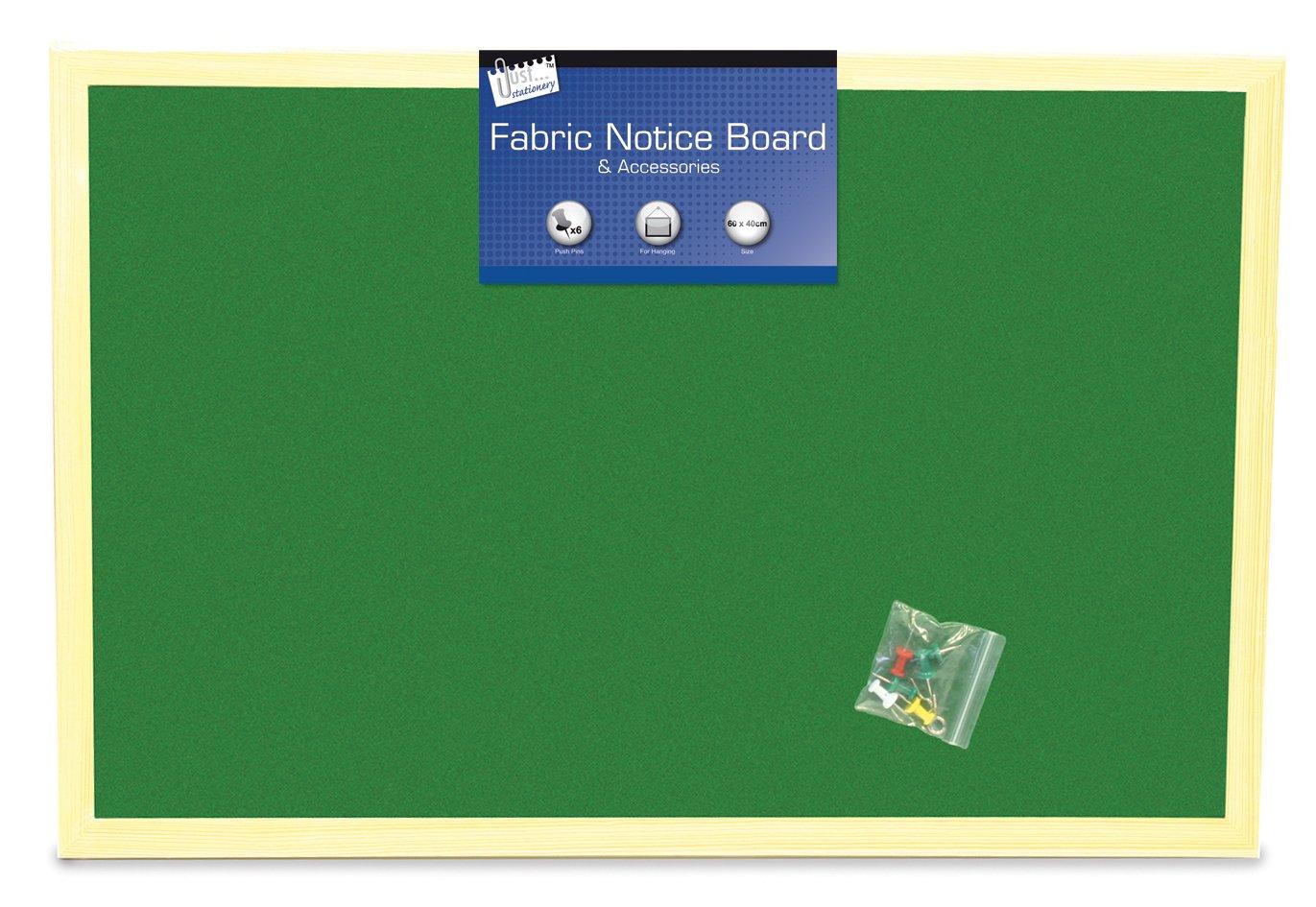 Tallon Just Stationery - Tablón de anuncios anuncios de (tela, 400 x 600 mm) 1a225a