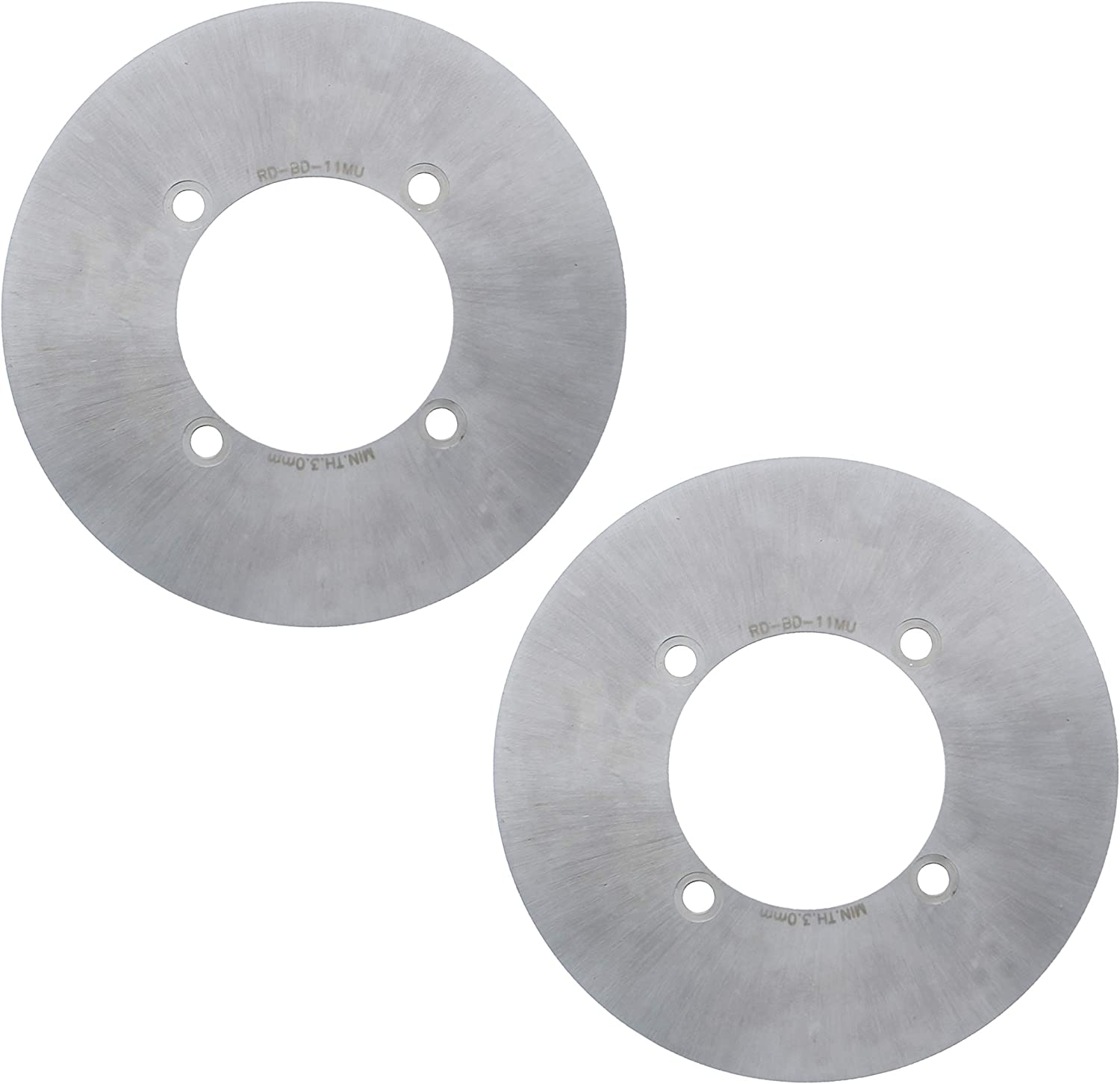 Brake Rotors for Yamaha Kodiak 700 YFM700 2016-2019 Front MudRat Brake Discs