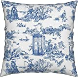 Dalik Weeping Angel Pillowcase made from Doctor Who Comic Strip cotton  fabric w green trim includes Tardis Zygot Obb Silence Cyberman