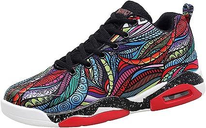 ZARLLE Calzado Zapatos Deportivos Casual Zapatillas de Running para Mujer Zapatillas de Deporte Coloridas de la Serie Cool Wild Reflective Casual Shoes Sneakers 36-41: Amazon.es: Ropa y accesorios