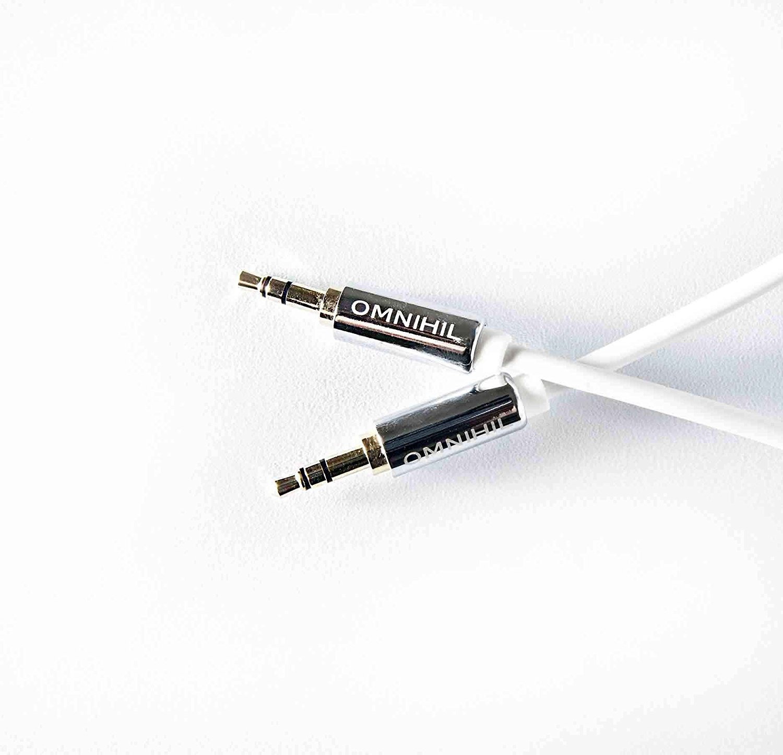 OMNIHIL Multi-Room Replacement 30ft B01HDECGQ6 3.5mm Headset Audio ...