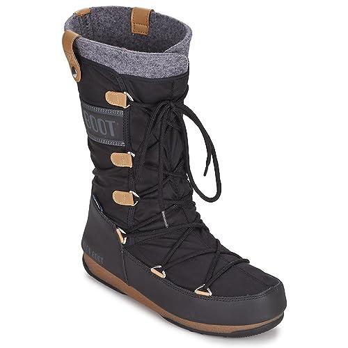 brand new 66128 cbb9b Moon Boot Womens Boots, Colour Black, Brand, Model Womens ...