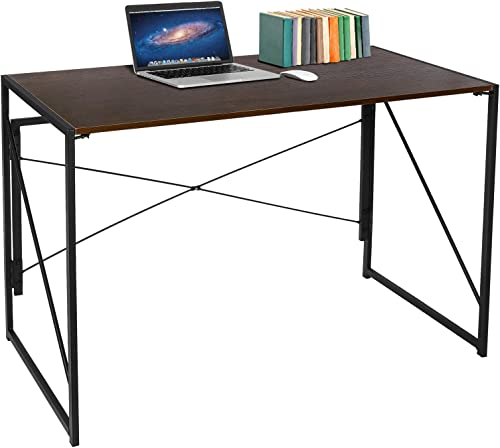 ZenStyle Writing Computer Desk 39″ Folding Study Desk