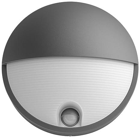 Philips myGarden Capricorn - Aplique de exterior LED con sensor de movimiento, luz blanca fría