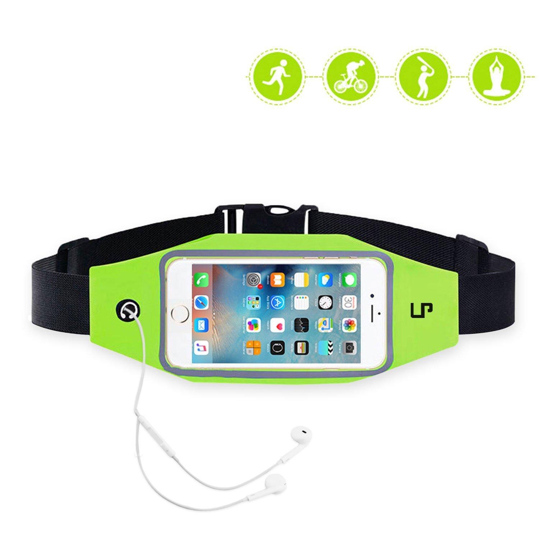Running Flip Fitness Workout Belt , Money Belt Waist Pack for Jogging , Gym Workouts , Walking , Exercise , Hiking , Outdoor travel Iphone6 6s 6 Plus unisex65288; green65289;