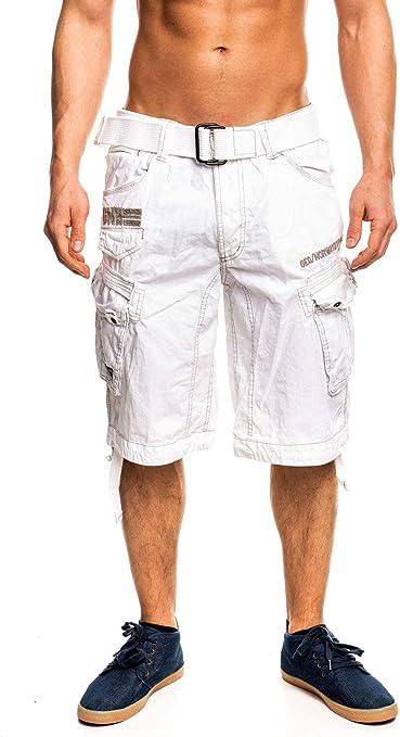 TALLA M. Geographical Norway People - Pantalón corto para hombre