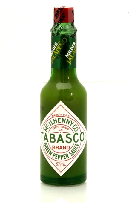 Tabasco Mild Green Pepper Sauce 57g