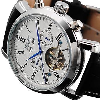 Amazon.com: Relojes de Hombre Mens AUTO Mechanical Watch Mechanical RE0029: Watches