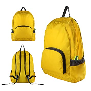 Discoball Portable Foldable Travel Bag Backpack Outdoor Waterproof Durable  Hill-climbing Daypack Backpack Large Capacity Light Weight Fashionable  Travelling ... 2b9e8b49e8994