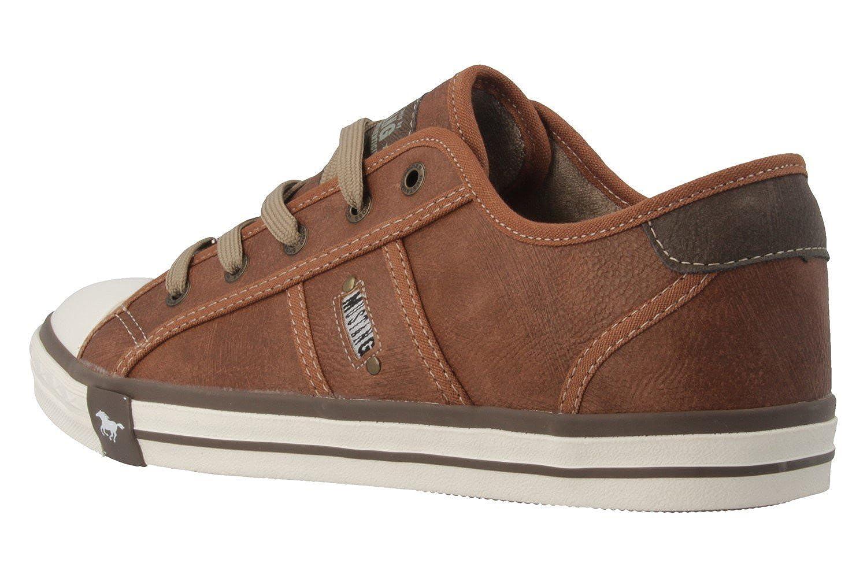Mustang Shoes Sneaker, mit dunkler Laufsohle, braun, 42 42