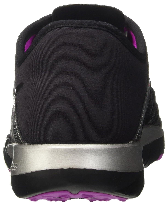 Womens Nike Free TR 6 Training Shoes B000G41UJ0 7 B(M) US|Metallic Silver/Black/Hyper Violet