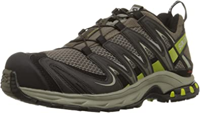 Salomon L35938000, Zapatillas de Trail Running para Hombre, Verde (Swamp/Dark Titanium/Seaweed Green), 40 2/3 EU: Amazon.es: Zapatos y complementos