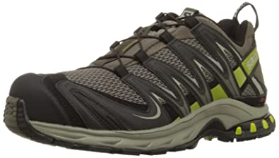 Salomon Men's XA Pro 3D Trail Running Shoe,Swamp/Dark Titanium/Seaweed Green
