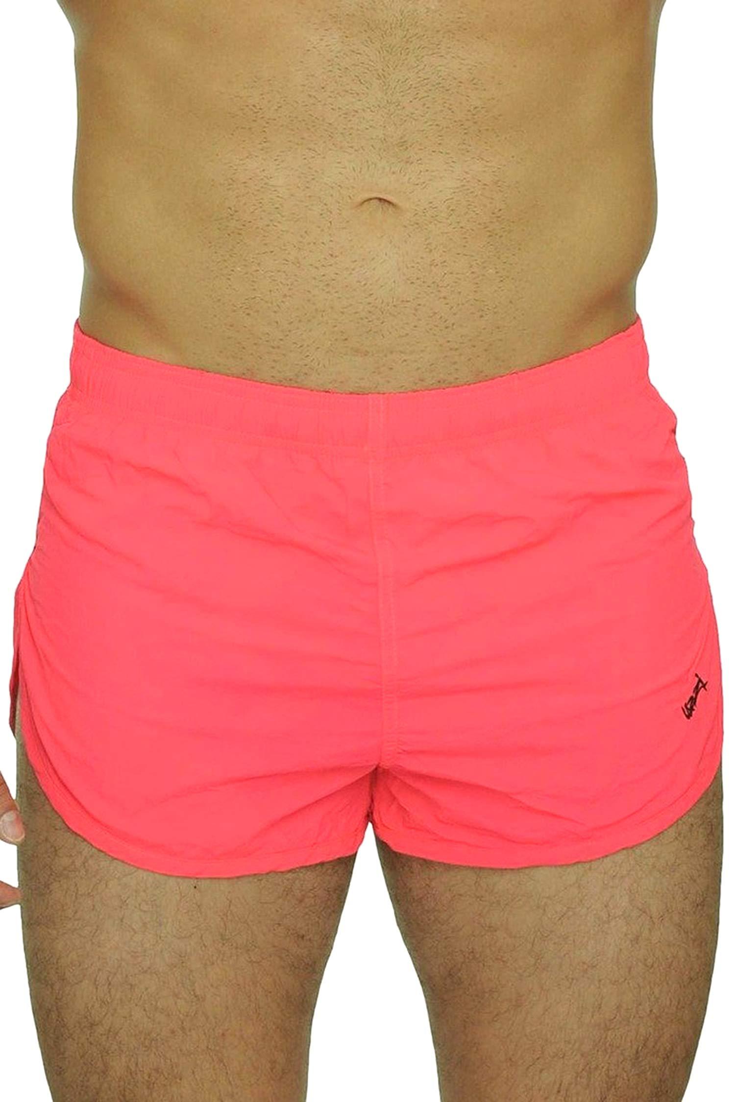 UZZI Men's Running Shorts Swimwear Trunks