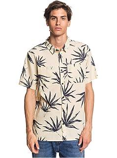 Quiksilver The Camp - Camisa de Manga Corta para Hombre EQYWT03796: Amazon.es: Ropa y accesorios