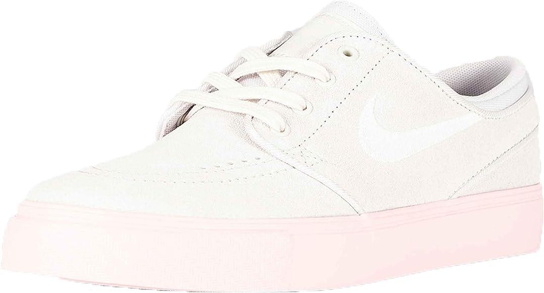 Nike Stefan Janoski Mujer GRIS Suela ROSA: Amazon.co.uk ...